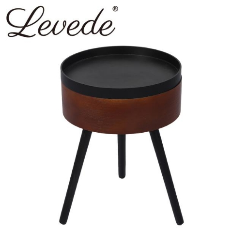Picture of Levede Coffee Side End Tables Antique Storage Modern Bedside Table Plant Stand | Free Delivery