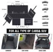 Picture of Hammock Style Foldable Portable Car Back Seat Cover For Dog   Free Delivery