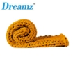 Picture of Dreamz Knitted Weighted Blanket Chunky Bulky Knit Throw Blanket 3KG Yellow   Free Delivery