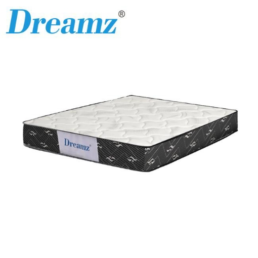 Picture of Dreamz Bedding Mattress Single Size Premium Bed Top Spring Foam Medium Soft 16CM   Free Delivery