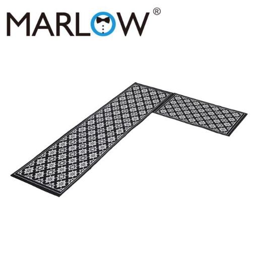 Picture of Marlow 2x Kitchen Mat Floor Rugs Area Carpet Non-Slip Door Mat 45x120cm /45x75cm | Free Delivery
