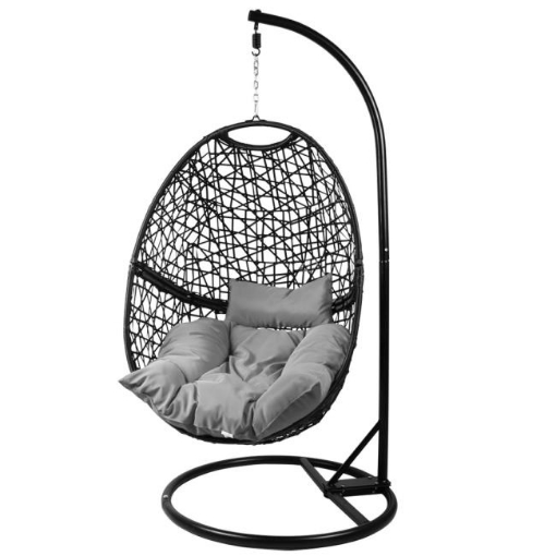 Picture of Levede Hanging Swing Egg Chair Outdoor Furniture Hammock Pod Patio Cushion Seat   Free Delivery