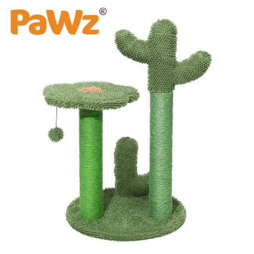 Picture of PaWz Cat Tree Scratching Post Scratcher Furniture Condo Tower House Trees L   Free Delivery