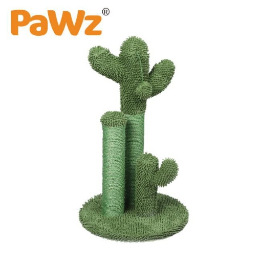 Picture of Cactus Cat Scratching Posts Pole Tree Kitten Climbing Scratcher Furniture Toys | Free Delivery