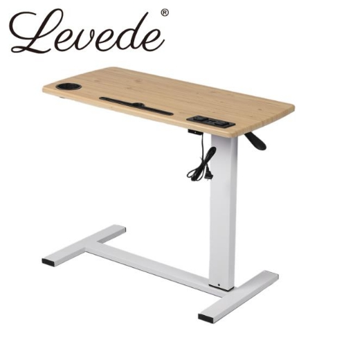 Picture of Levede Standing Desk Height Adjustable Stand Office Computer Table Laptop Desk | Free Delivery