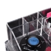 Picture of 10 Drawers Clear Acrylic Boxes Cosmetic Makeup Organizer Jewellery Storage Box | Free Delivery