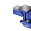 """Picture of 4"""" Heavy Duty Table Bench Vice Workbench Anvil Swivel Base Grip Clamp 100mm   Free Delivery"""