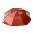 Picture of Umbrella Beach Outdoor Umbrellas Sun Shade Weather Patio Garden Shelter 2M Red | Free Delivery