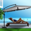 Picture of 3M Patio Outdoor Umbrella Cantilever Grey | Free Delivery