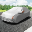 Picture of Waterproof Adjustable Large Car Covers Rain Sun Dust UV Proof Protection YXL | Free Delivery