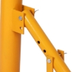 """Picture of Portable Manual Tyre Changer Bead Breaker Car 4WD Van Motorcycle 8""""-18"""" Yellow   Free Delivery"""